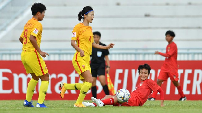 Trung Quốc đối mặt nguy cơ bị loại khỏi giải châu Á