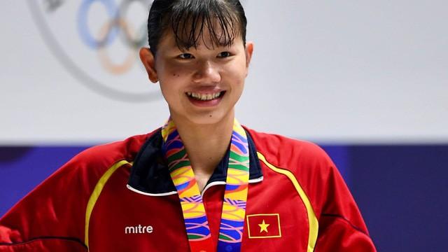 Ánh Viên là VĐV nữ xuất sắc nhất SEA Games 30