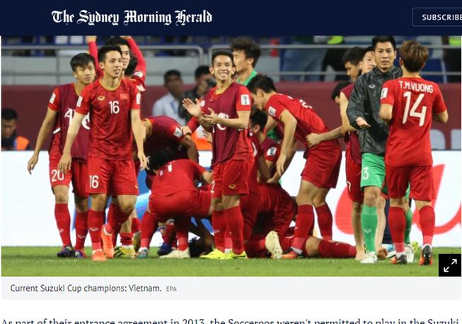 Úc sẽ tham dự AFF Cup 2020?
