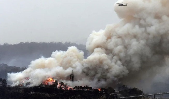 Nạn cháy rừng đang đe dọa Úc mở rộng