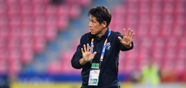 HLV Nishino nói gì sau chiến thắng '5 sao' của U-23 Thái Lan?