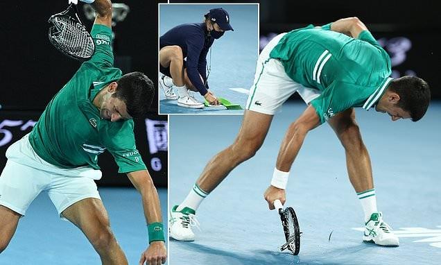 Djokovic nói gì về sự nóng nảy đập vợt của mình?