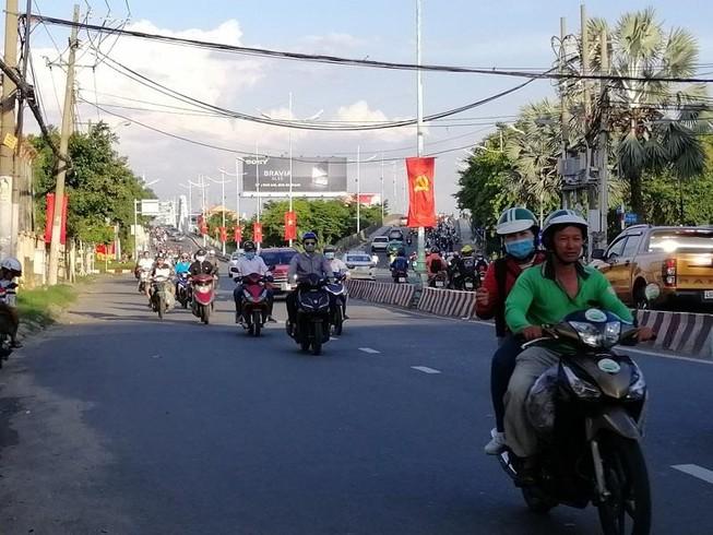 TP.HCM: Nhiều cung đường phía nam thoáng đến lạ