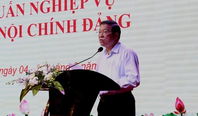Trưởng Ban Nội chính Trung ương Tập huấn nghiệp vụ tại Cần Thơ