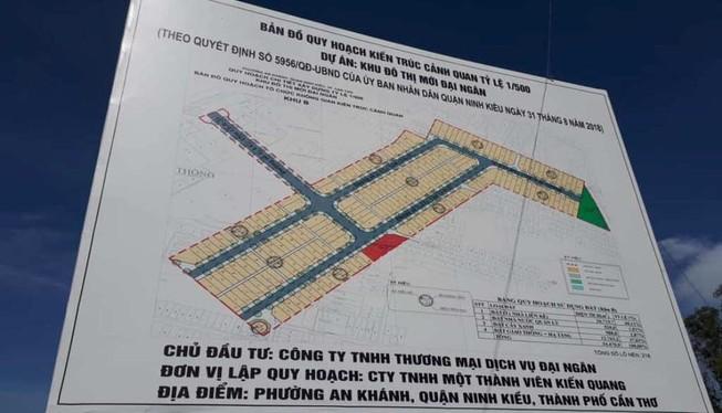 Thêm 1 khu đô thị mới được chấp thuận đầu tư ở Cần Thơ