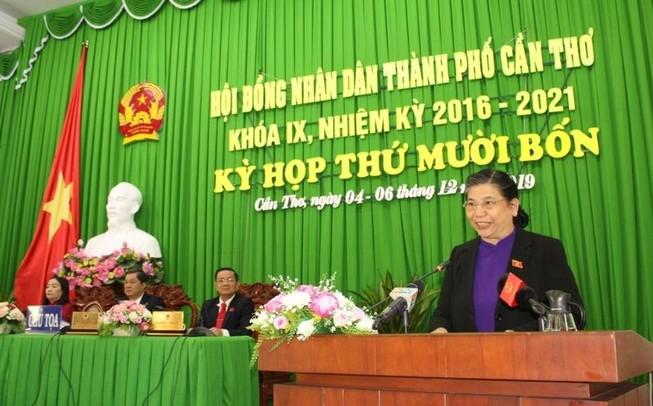 Phó Chủ tịch Quốc hội: Cần Thơ làm tốt vai trò trung tâm vùng