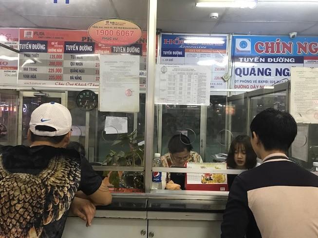 Phương Trang mở bán vé xe tết