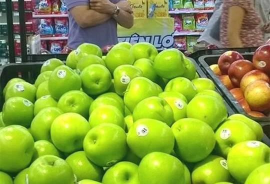 98% táo Mỹ nhập về Việt Nam không xuất phát từ nơi nhiễm khuẩn