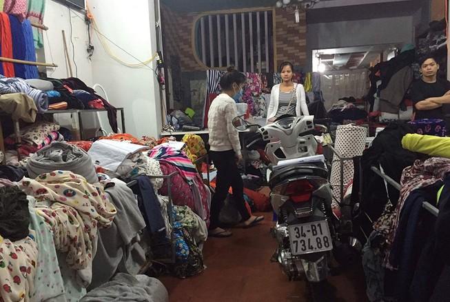 1 công an tỉnh Hải Dương bị đâm tại tiệm vải