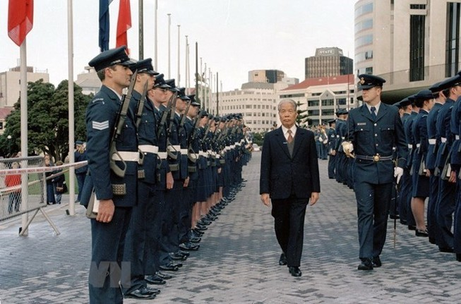 Lễ viếng nguyên Tổng Bí thư Đỗ Mười tại Liên Hiệp Quốc