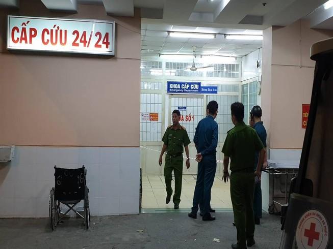 Nổ súng ở Bệnh viện Trưng Vương