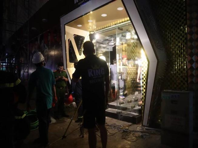 Đang sửa chữa, bar ở TP Bà Rịa sập làm 8 người bị thương