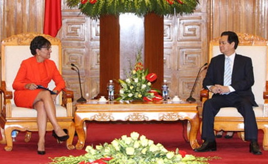 """""""Mỹ muốn tăng cường quan hệ với Việt Nam trên mọi lĩnh vực"""""""