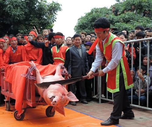 Người phát ngôn Bộ Văn hóa nêu quan điểm về lễ hội chém lợn