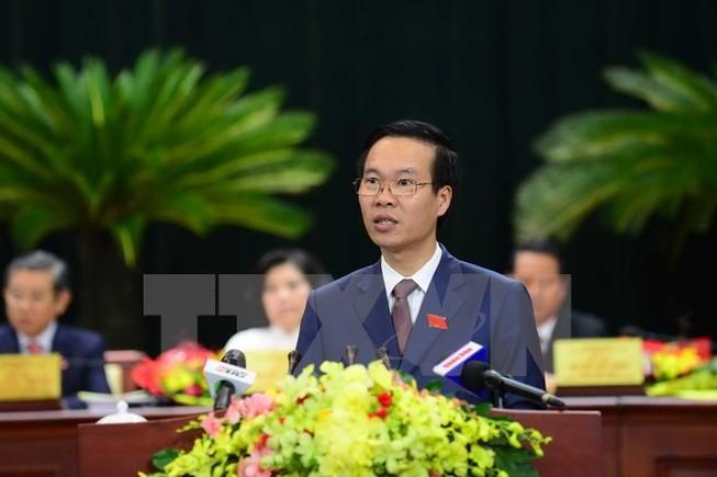 Công bố quyết định của Bộ Chính trị đối với ông Võ Văn Thưởng