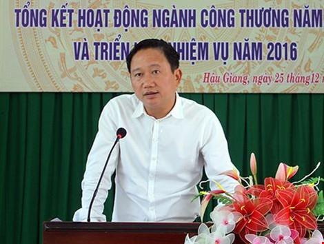 Chiều nay sẽ xem xét đơn xin không tái cử của ông Trịnh Xuân Thanh