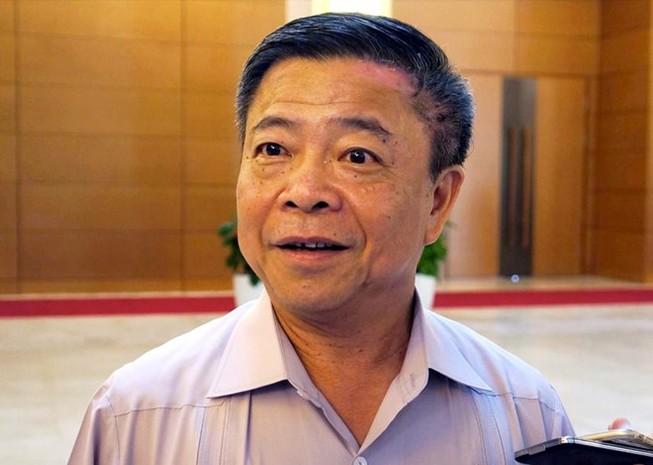 Sẽ trình QH xem xét tư cách đại biểu của ông Võ Kim Cự