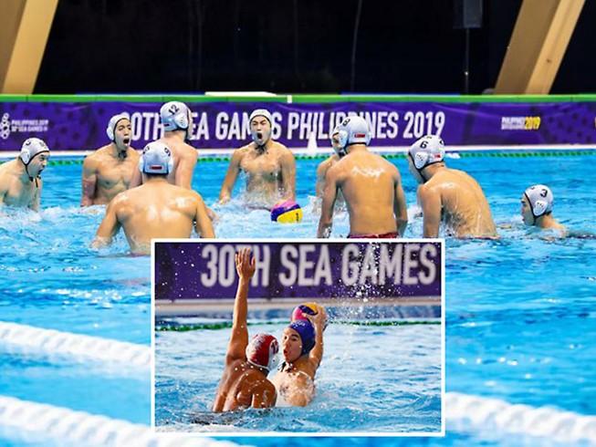 Môn bóng nước của Singapore liên tục dẫn đầu tại các kỳ đại hội thể thao khu vực.