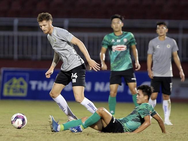 Hà Nội FC có thêm chân sút Geovane liệu có tìm lại được thể diện nhà cựu vô địch trên sân nhà?