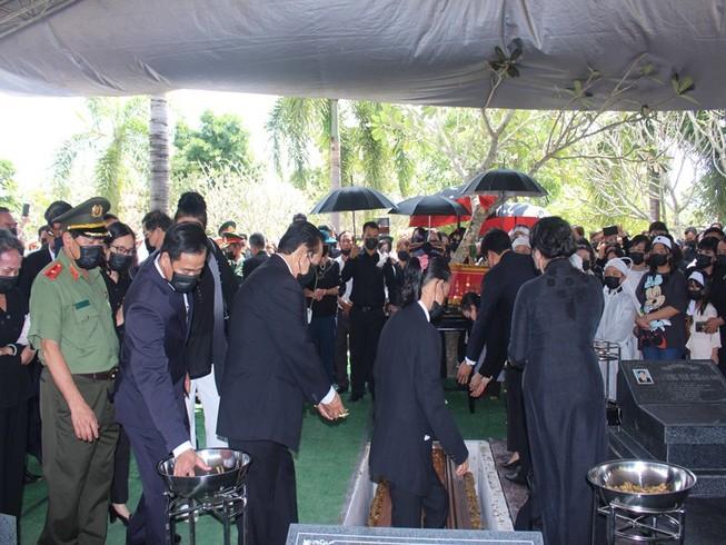 Ông Trương Vĩnh Trọng yên nghỉ ở nghĩa trang tỉnh Bến Tre