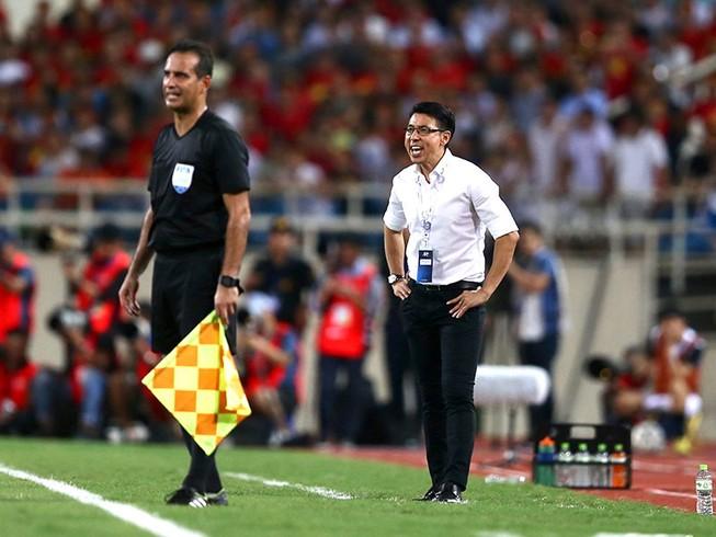 HLV Tan Cheng Hoe và Malaysia từng thua 0-1 ở lượt đi trước thầy trò HLV Park Hang-seo.