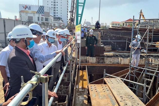 Lãnh đạo TP Đà Nẵng liên tục đi thăm, đốc thúc tiến độ các dự án động lực, trọng điểm của TP.