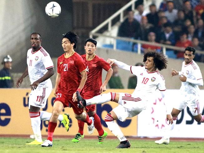 UAE thách thức tất cả đối thủ, kể cả đối thủ đang dẫn đầu bảng G.