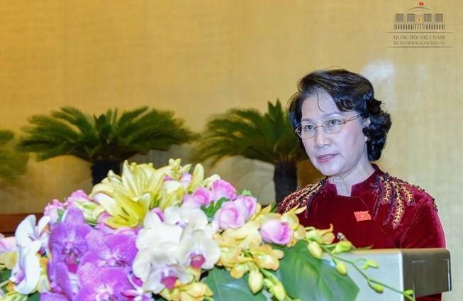 Quốc hội kêu gọi cả nước ủng hộ đồng bào miền Trung