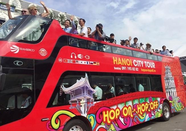 Hà Nội miễn phí xe bus cho phóng viên dự Hội nghị Mỹ - Triều