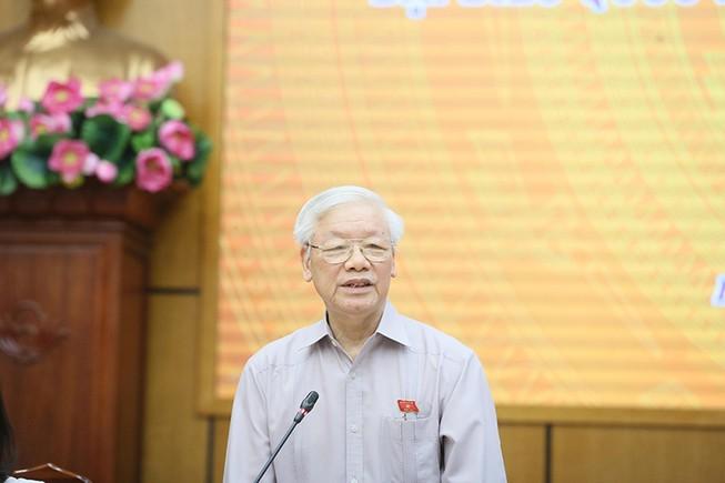 Tổng bí thư góp ý cho Hà Nội với tư cách công dân thủ đô