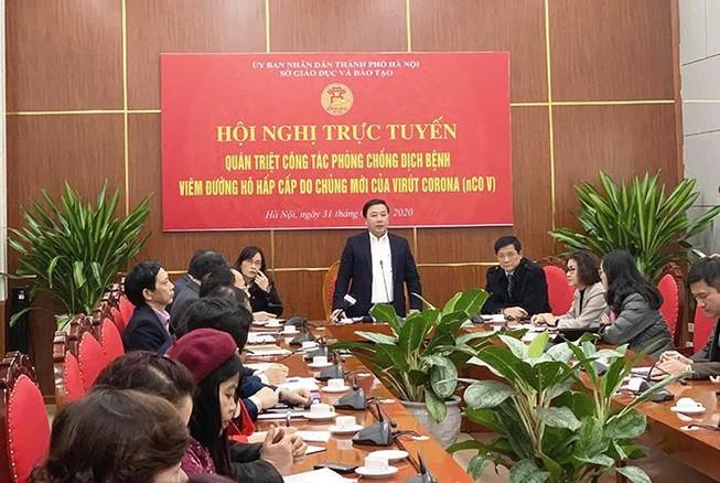 Hà Nội bảo vệ hơn 2 triệu học sinh trước dịch cúm Vũ Hán