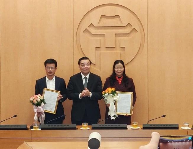 Ông Bùi Duy Cường được bổ nhiệm làm Giám đốc Sở TN&MT Hà Nội