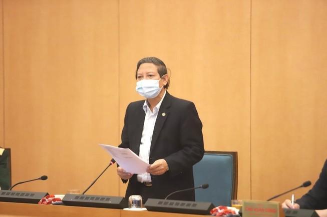 Ông Hoàng Đức Hạnh, Phó Giám đốc Sở Y tế Hà Nội