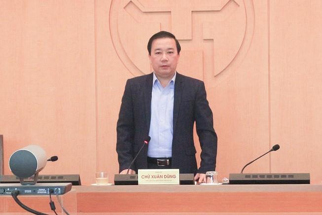 Ông Chử Xuân Dũng, Phó Chủ tịch UBND TP Hà Nội. Ảnh: TP
