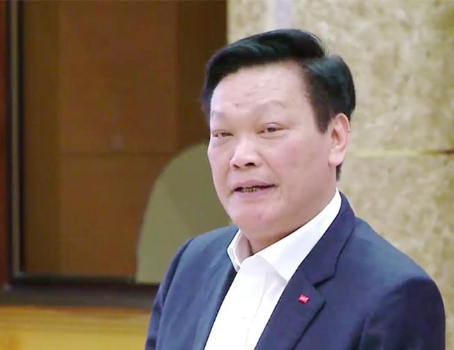 Thứ trưởng Bộ Nội Vụ Nguyễn Duy Thăng. Ảnh: TP