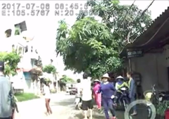 Xuất hiện clip nghi CSGT truy đuổi khiến tài xế tử vong
