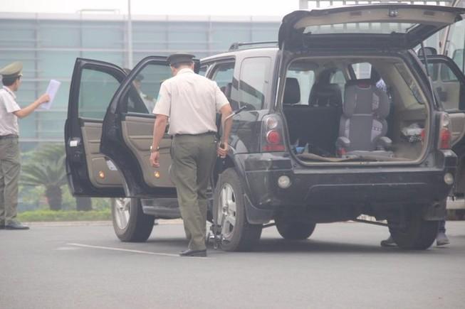 Siết chặt an ninh tại Nội Bài đón ông Tập Cận Bình