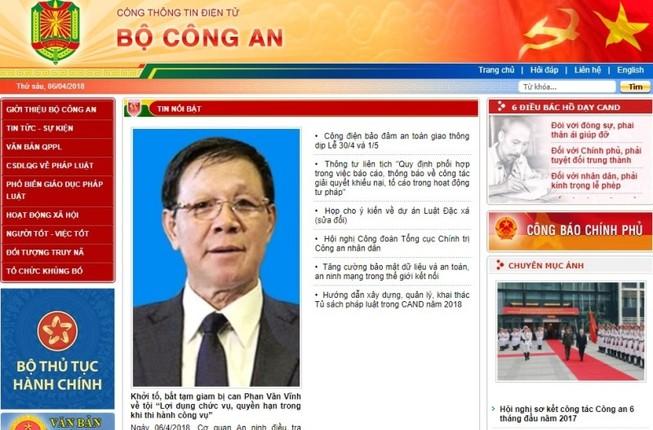 Bắt giam, tước danh hiệu CAND ông Phan Văn Vĩnh