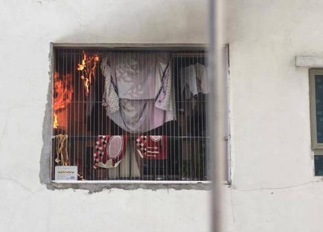 Cháy căn hộ tầng 31 ở khu đô thị Linh Đàm