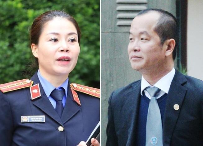 Vụ BS Lương: Luật sư và VKS đối đáp về 'dấu hiệu đầu độc'