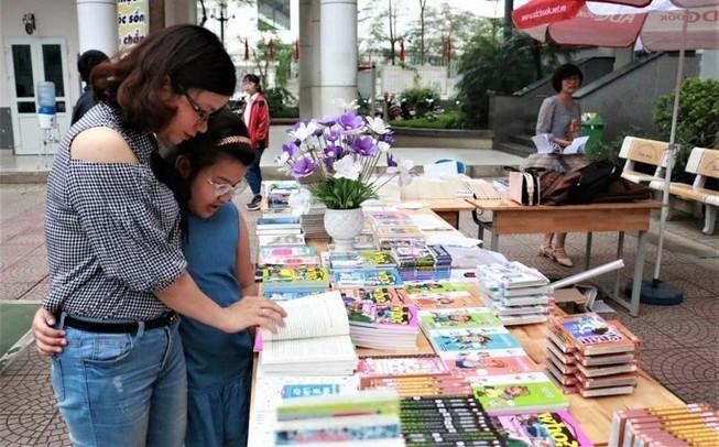 Hơn 1.000 học sinh háo hức đón ngày hội đọc sách