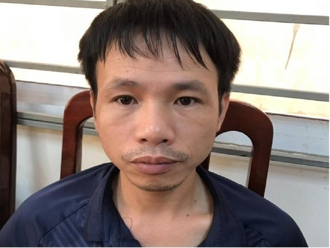 Công an bắt giam thanh niên đốt pháo trên sân Hàng Đẫy