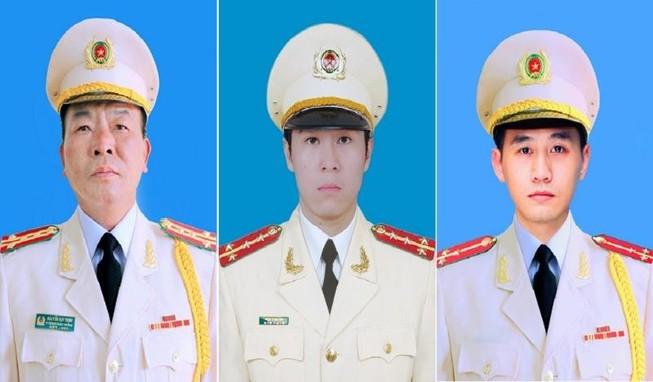 Bộ Công an tổ chức tang lễ cho 3 liệt sĩ hy sinh tại Đồng Tâm