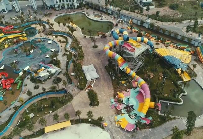 Tháo dỡ công trình sai phạm tại Công viên nước Thanh Hà