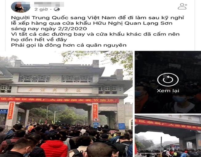 Tung tin cấm người Trung Quốc nhập cảnh, bị phạt hơn 12 triệu