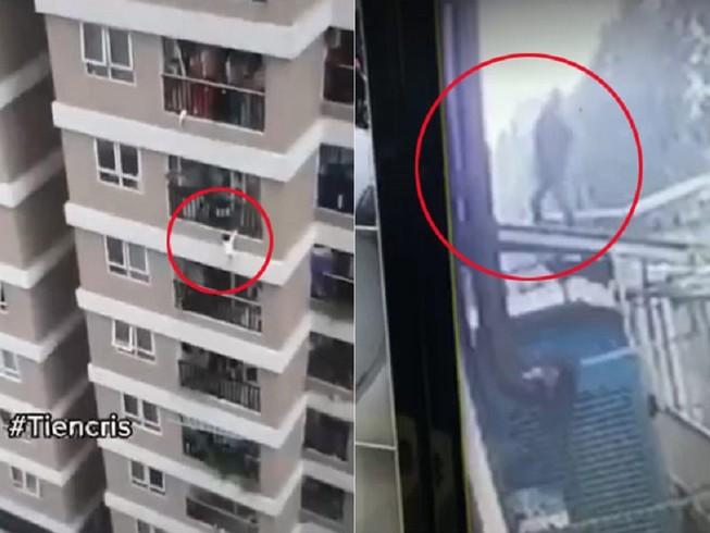 Rơi từ tầng 13 chung cư, bé gái thoát chết kỳ diệu
