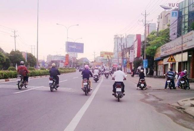 Xe máy đi sai làn đường và mức xử phạt
