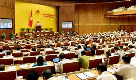 Công bố kết quả phiếu phê chuẩn 26 thành viên Chính phủ