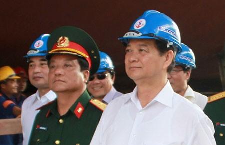 """Thủ tướng Nguyễn Tấn Dũng: """"Biển là không gian sinh tồn của dân tộc"""""""