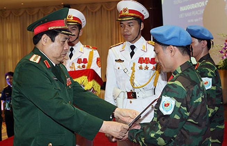 Việt Nam tham gia hoạt động gìn giữ hòa bình của LHQ